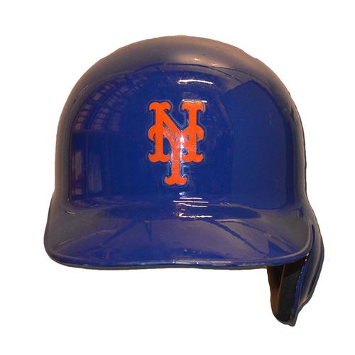 Juan Lagares #12 - Game Used World Series Helmet - Mets vs. Royals - 11/1/15