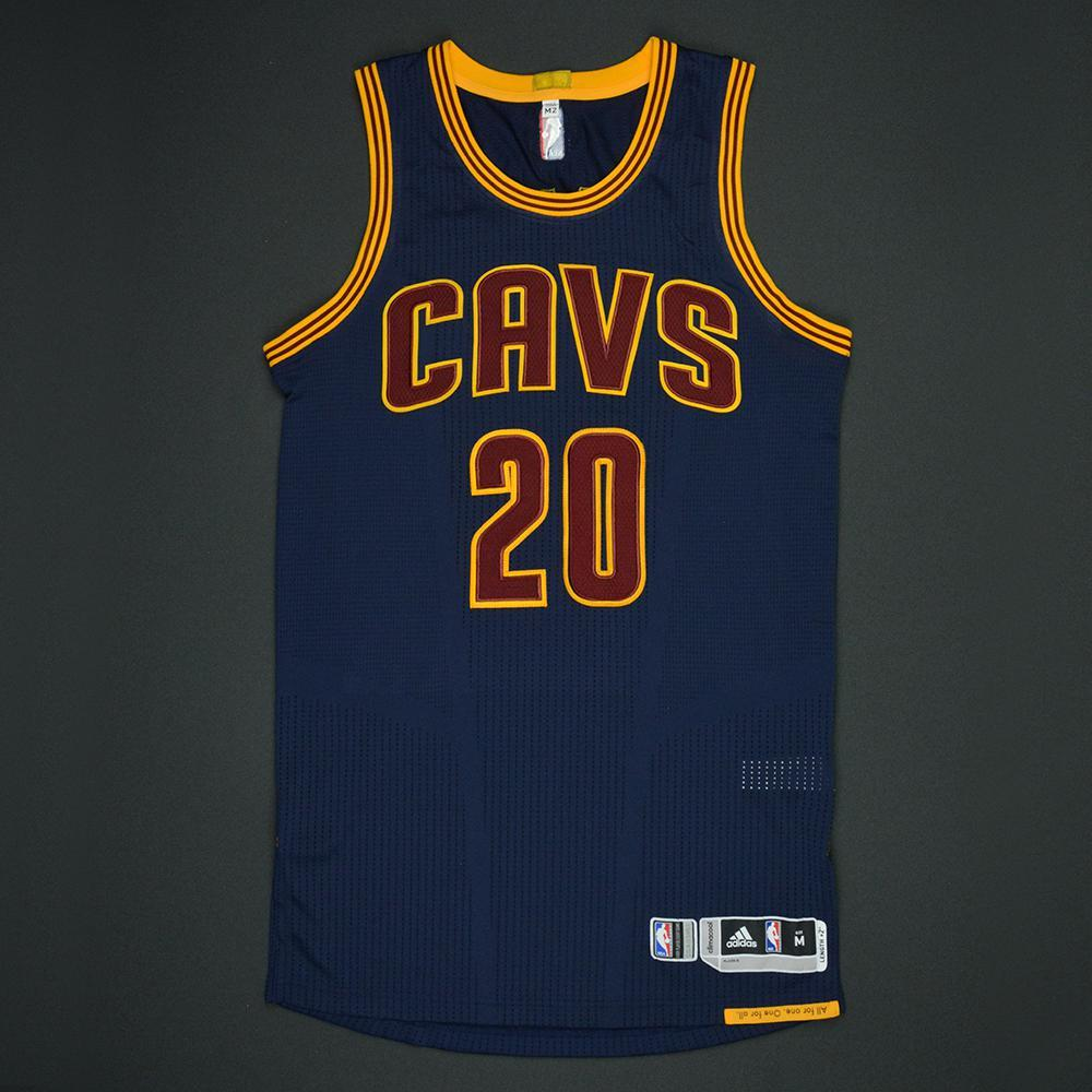 Kay Felder - Cleveland Cavaliers - 2017 NBA Finals - Game 1 - Game-Issued Navy Jersey