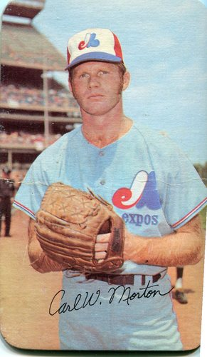 Photo of 1971 Topps Super #28 Carl Morton
