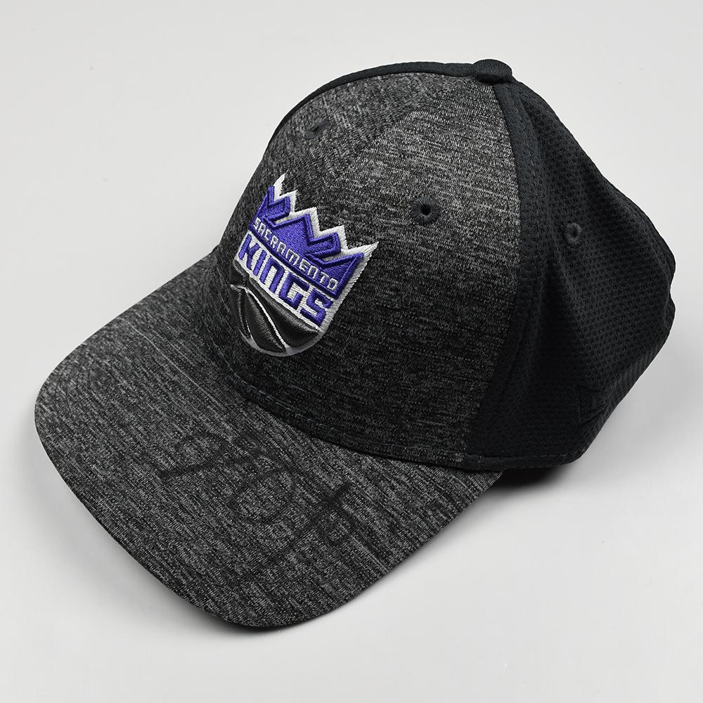 De'Aaron Fox - Sacramento Kings - 2017 NBA Draft - Autographed Hat