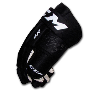 Brent Burns Autographed CCM Hockey Glove (San Jose Sharks)
