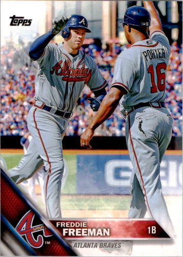 Photo of 2016 Topps #241 Freddie Freeman