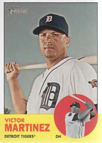 Photo of 2012 Topps Heritage #64 Victor Martinez