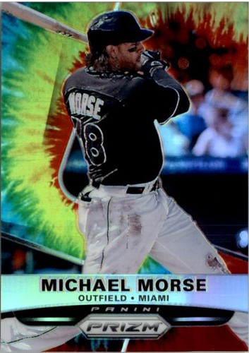 Photo of 2015 Panini Prizm Prizms Tie Dyed #6 Michael Morse
