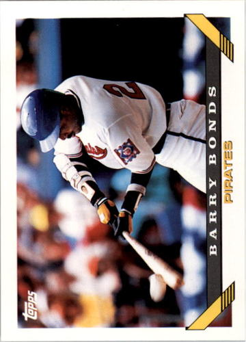 Photo of 1993 Topps #2 Barry Bonds