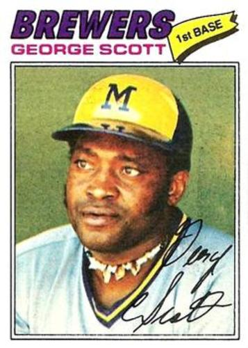 Photo of 1977 Topps #255 George Scott