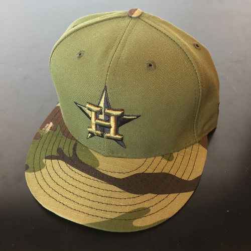 Photo of Game-Used Memorial Day Cap: Josh Reddick