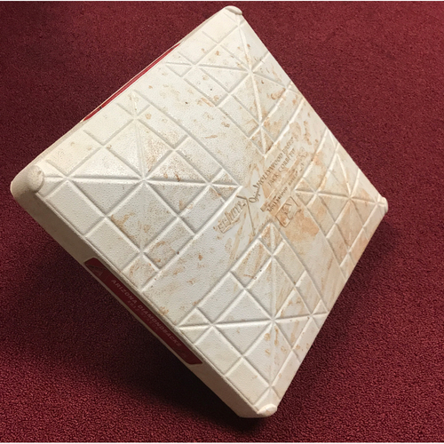 Photo of Game-Used 3rd Base from Anthony Banda Debut (Bryce Harper HR)