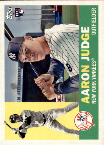 Photo of 2017 Topps Archives #62 Aaron Judge Rookie Card -- Yankees post-season