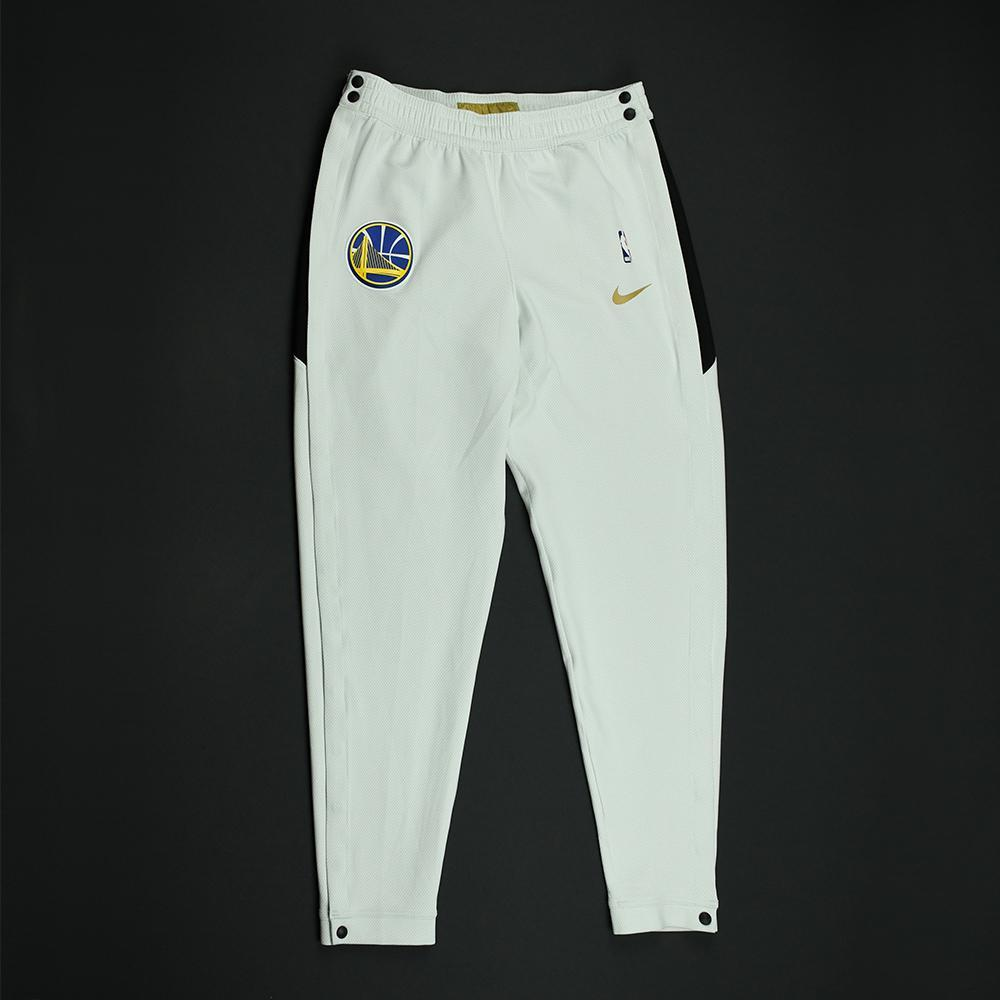 Klay Thompson - Golden State Warriors - 2018 NBA Finals - Game-Issued Warmup Pants