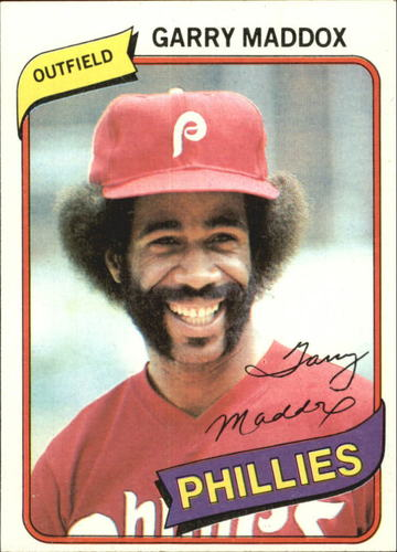Photo of 1980 Topps #380 Garry Maddox