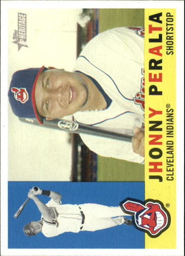 Photo of 2009 Topps Heritage #178 Jhonny Peralta