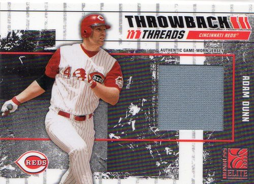 Photo of 2003 Donruss Elite Throwback Threads #69 Adam Dunn/Austin Kearns