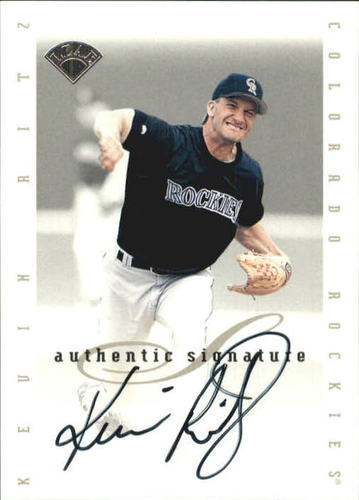 Photo of 1996 Leaf Signature Extended Autographs #171 Kevin Ritz