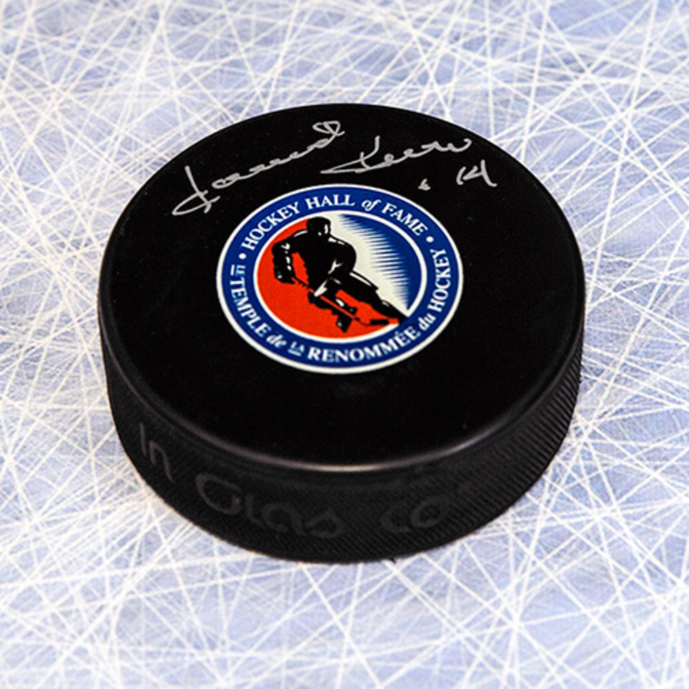 Dave Keon Autographed Hockey Hall of Fame Puck *Toronto Maple Leafs*