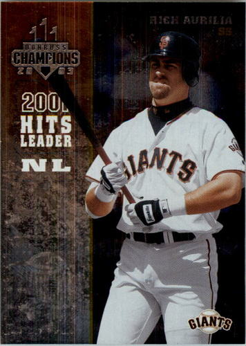Photo of 2003 Donruss Champions Metalized #229 Rich Aurilia