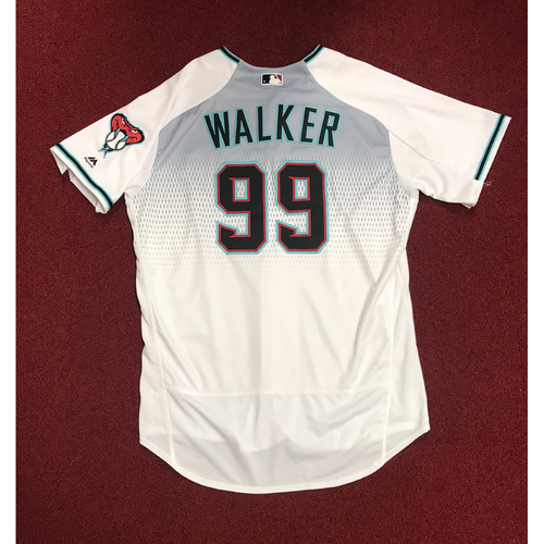 Photo of Taijuan Walker Game-Used Jersey from First Career HR Game