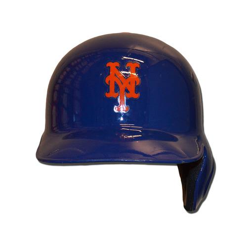 Photo of Kevin Plawecki #26 - Game Used Batting Helmet - 2016 Wildcard Game - Mets vs. Giants - 10/5/16