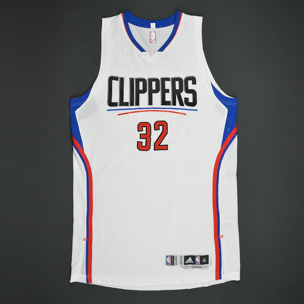 Blake Griffin - Los Angeles Clippers - Game-Worn Jersey - 2016-17 NBA Season