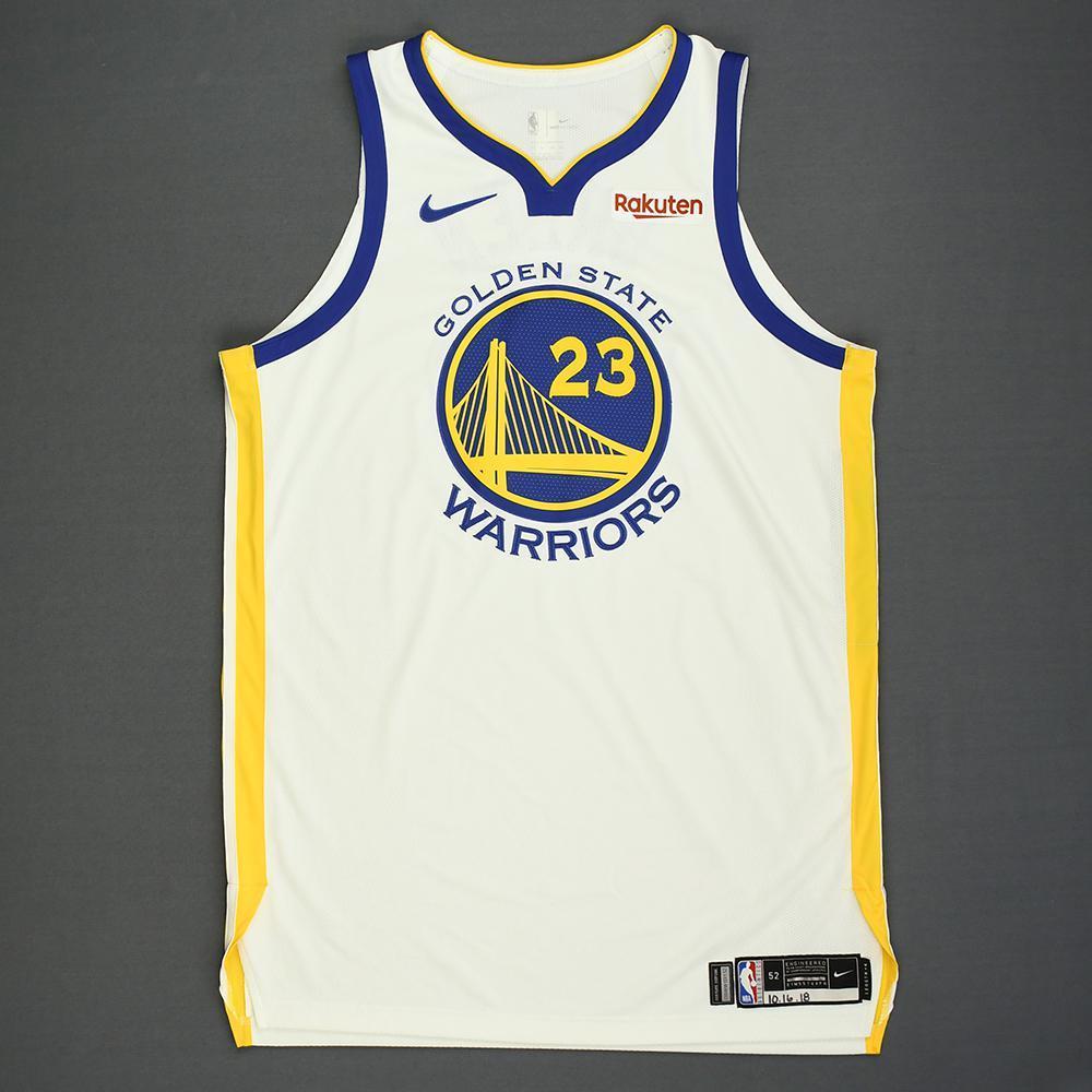 Draymond Green - Golden State Warriors - Kia NBA Tip-Off 2018 - Game-Worn Association Edition Jersey