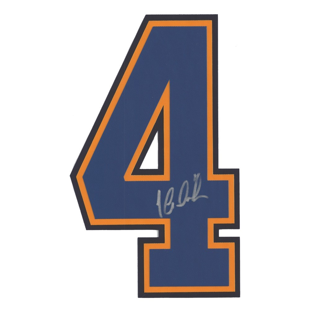 Jaroslav Halek Autographed St. Louis Blues Jersey Number