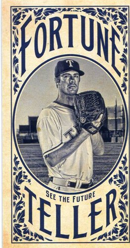 Photo of 2017 Topps Gypsy Queen Fortune Teller Mini #FTCH Cole Hamels