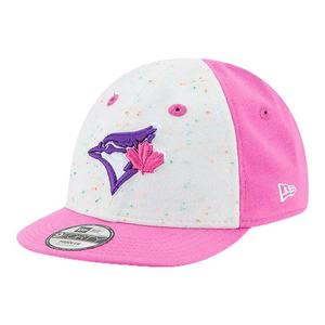 Toronto Blue Jays Infant Speckle Tot Cap White/Pink by New Era
