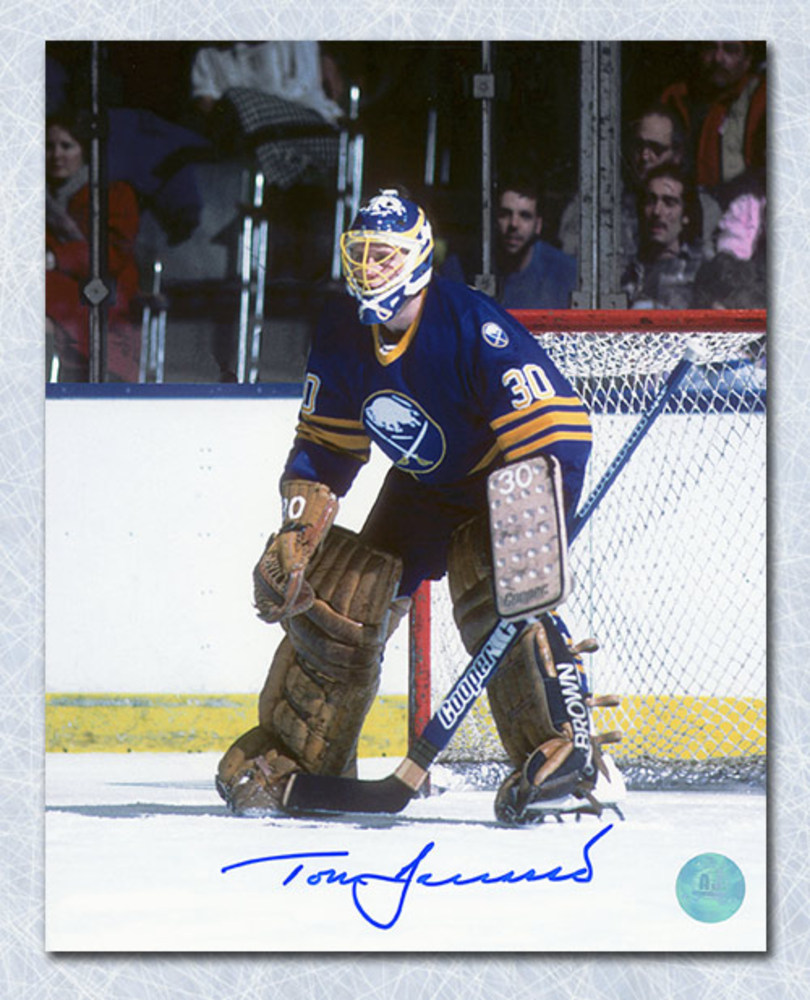 Tom Barrasso Buffalo Sabres Autographed Goalie 8x10 Photo
