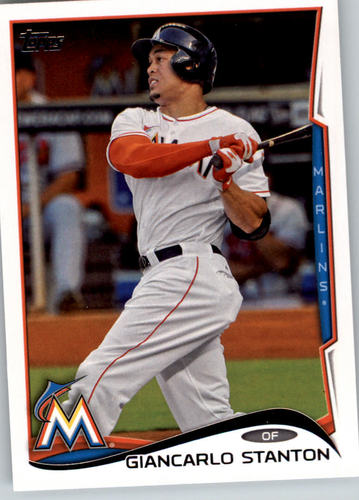 Photo of 2014 Topps #217A Giancarlo Stanton