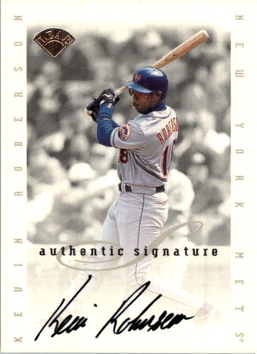 Photo of 1996 Leaf Signature Extended Autographs #172 Kevin Roberson