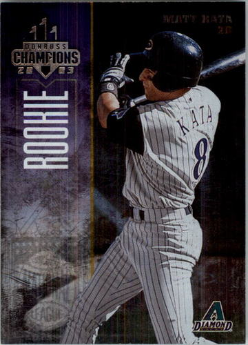 Photo of 2003 Donruss Champions Metalized #285 Matt Kata