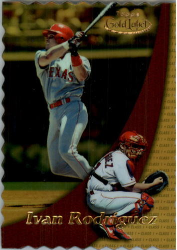 Photo of 2000 Topps Gold Label Class 1 Gold #69 Ivan Rodriguez