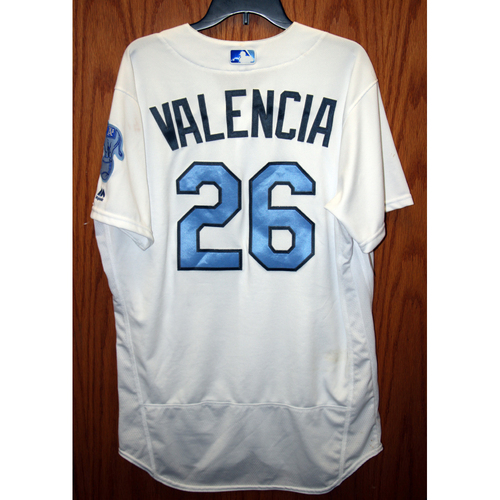 Photo of Danny Valencia Game-Used 2016 Father's Day Jersey