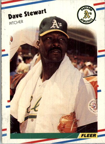 Photo of 1988 Fleer Wax Box Cards #C14 Dave Stewart