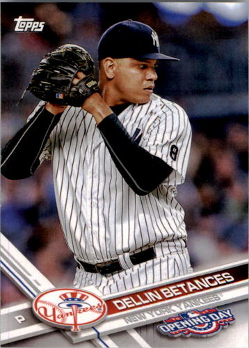 Photo of 2017 Topps Opening Day #191 Dellin Betances