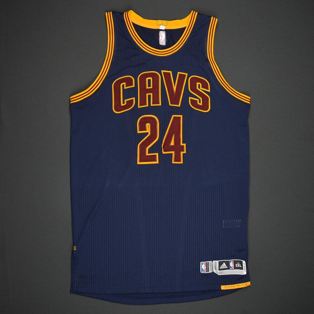 Richard Jefferson - Cleveland Cavaliers - 2017 NBA Finals - Game 1 - Game-Worn Navy Jersey