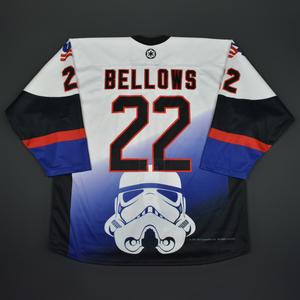 Kieffer Bellows - 2016 U.S. National Under-18 Development Team - Star Wars Night Game-Worn Jersey