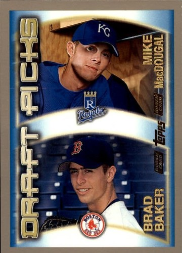 Photo of 2000 Topps #455 M.MacDougal/B.Baker RC