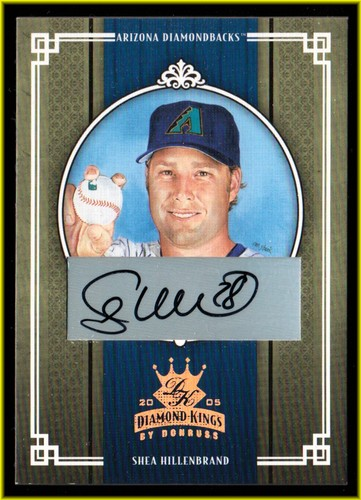 Photo of 2005 Diamond Kings Signature Bronze #14 Shea Hillenbrand/100