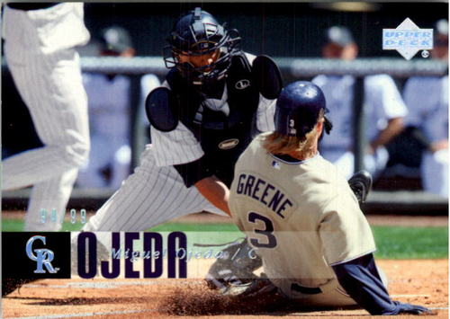 Photo of 2006 Upper Deck Silver Spectrum #600 Miguel Ojeda