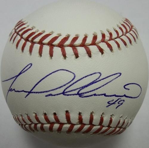 Photo of Yovani Gallardo Autographed Baseball