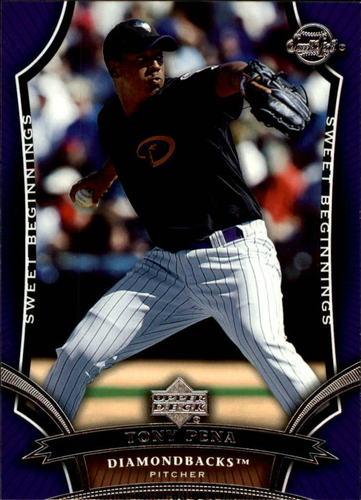 Photo of 2005 Sweet Spot #169 Tony Pena SB RC