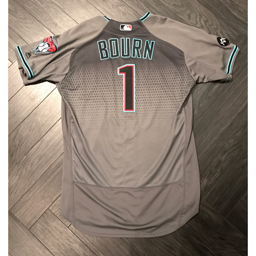 Photo of Michael Bourn 2016 Team-Issued Jersey