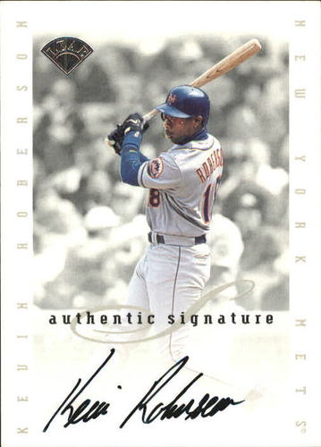 Photo of 1996 Leaf Signature Extended Autographs #173 Rich Robertson
