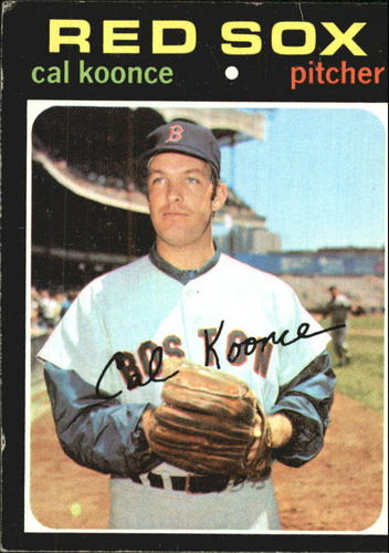 Photo of 1971 Topps #254 Cal Koonce