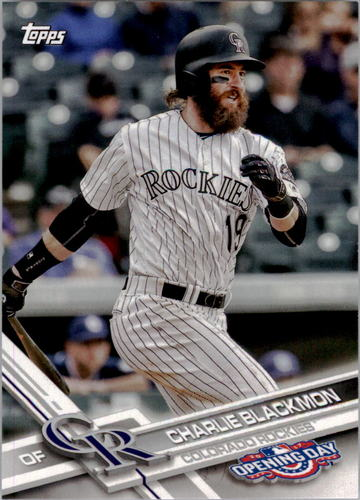 Photo of 2017 Topps Opening Day #192 Charlie Blackmon