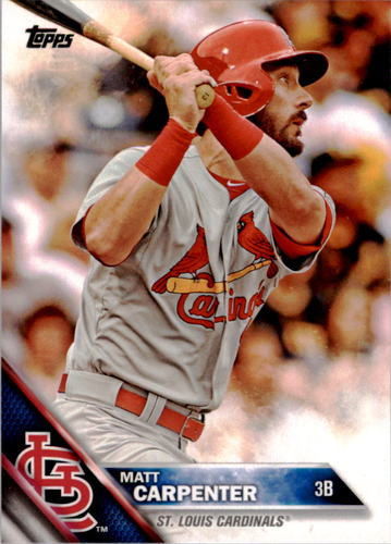 Photo of 2016 Topps #244A Matt Carpenter