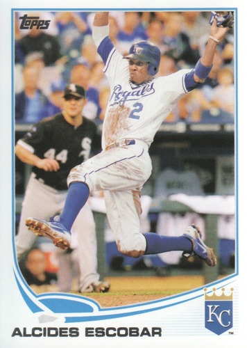 Photo of 2013 Topps #622 Alcides Escobar