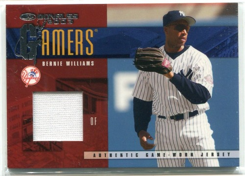 Photo of 2003 Donruss Gamers #27 Bernie Williams