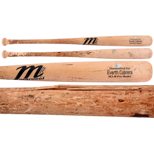 Photo of Everth Cabrera Padres Game-Used Broken Bat
